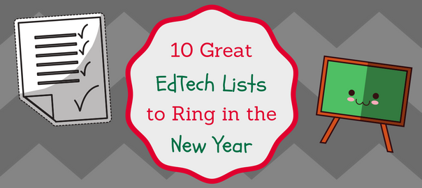 Teachers EdTech Lists New Year