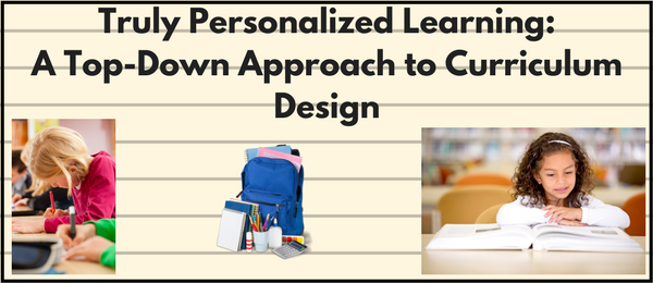 Curriculum Design Personalized Learning