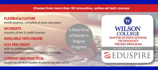 masters degree edtech