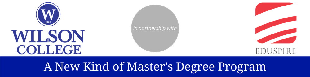 edtech masters degree wilson college