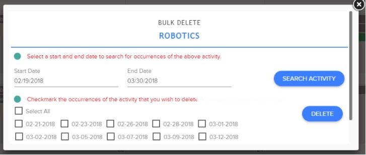SingleFlex FTM Activity Bulk